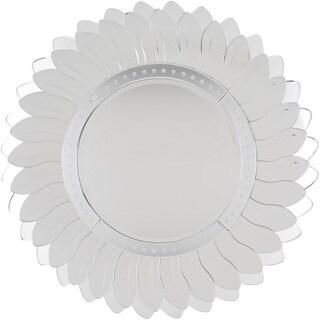 Glass Stieh Wall Mirror (43.3 x 43.3)