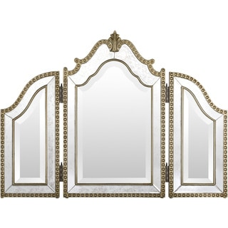 Metal Othelle Wall Mirror (26 x 35 )
