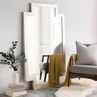 Palona Gilded Finish Wall Mirror (40 x 65) - Silver