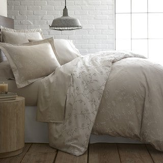 Link to Sweetbrier Luxury Cotton Reversible Duvet Cover and Sham Set Similar Items in Duvet Covers & Sets