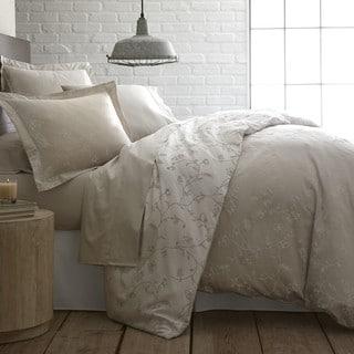 Sweetbrier Luxury Cotton Reversible Duvet Cover and Sham Set