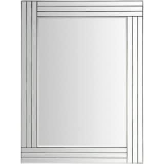 "Tarena Beveled Wall Mirror (24 x 36) - Silver - 24"" x 36"""