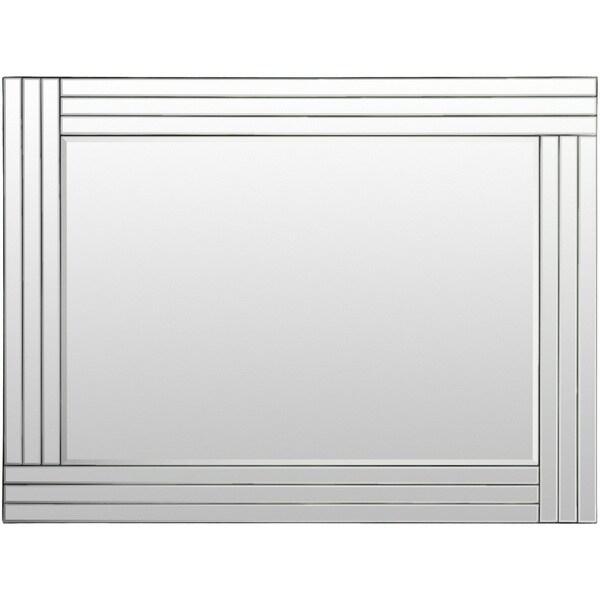 "Arien Beveled Wall Mirror (30 x 40) - Silver - 30"" x 40"""