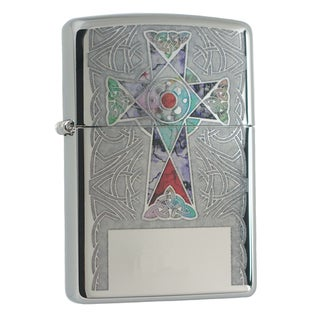 Link to Zippo Fuzion Cross High Polish Chrome Windproof Lighter Similar Items in Humidors & Accessories