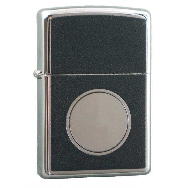Zippo Circle Design High Polish Chrome Windproof Lighter