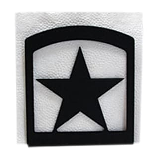 Black Metal Star Napkin Holder