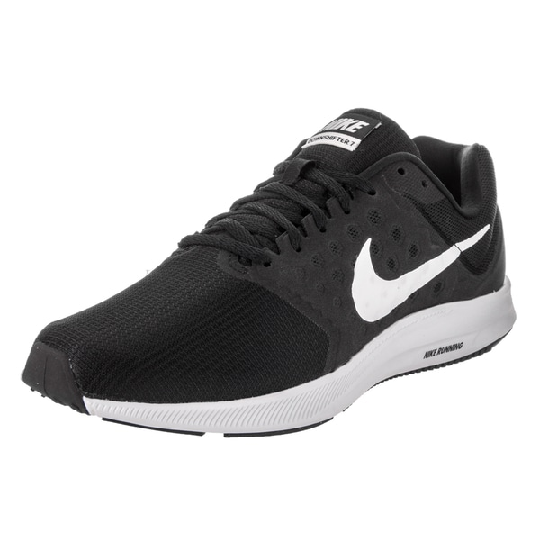 45ef6c5310266 Shop Nike Men s Downshifter 7 Black Running Shoes - Free Shipping ...