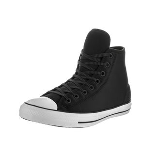 Converse Unisex Chuck Taylor All Star Hi Black Synthetic Leather Basketball Shoes