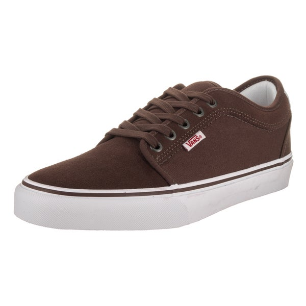 dc91e1140e Shop Vans Men s Chukka Low Brown Suede Skate Shoes - Free Shipping ...