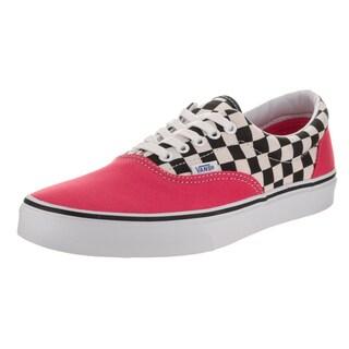 Vans Unisex Era Red Checkerboard Canvas Skate Shoe