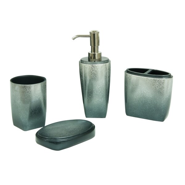 Landon 4-Piece Bath Accessories by Bacova Guild