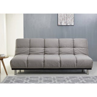 ABBYSON Charlotte Grey Fabric Sofa Bed