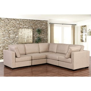 Abbyson Harper Fabric Modular 5-piece Sectional