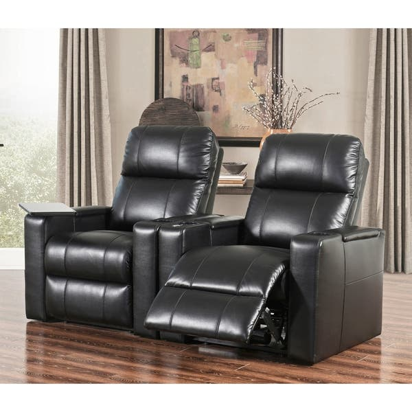 Groovy Shop Abbyson Rider Leather Theater Power Recliner On Sale Gamerscity Chair Design For Home Gamerscityorg