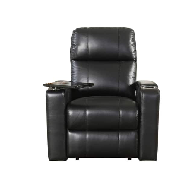 Enjoyable Shop Abbyson Rider Leather Theater Power Recliner On Sale Beatyapartments Chair Design Images Beatyapartmentscom