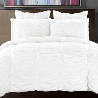 California Design Den Cotton Ruffled Handcrafted Duvet Cover Set