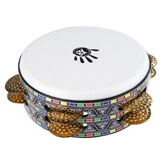 Handmade X8 Drums Mosaic Tunable Deep Shell Riq Tambourine Drum (Indonesia)