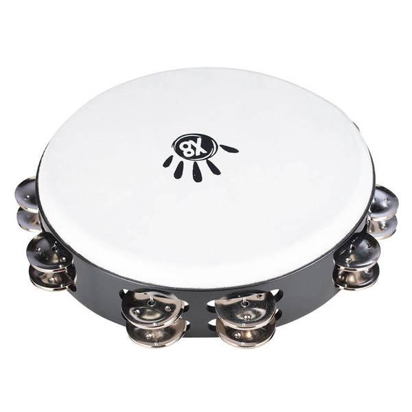 Handmade 10-Inch Tunable Tambourine (Indonesia)