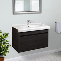 Highpoint Collection 26 inch Wall Vanity with Fireclay Basin