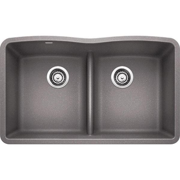 blanco diamond sink. Blanco Diamond Undermount Granite Kitchen Sink 442077 Metallic Gray