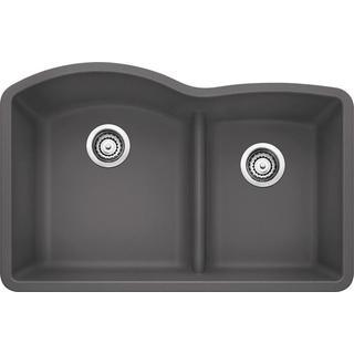 Blanco Diamond Undermount Cinder Granite Kitchen Sink