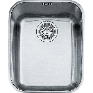 Medium image of franke artisan undermount steel kitchen sink arx11014 stainless steel