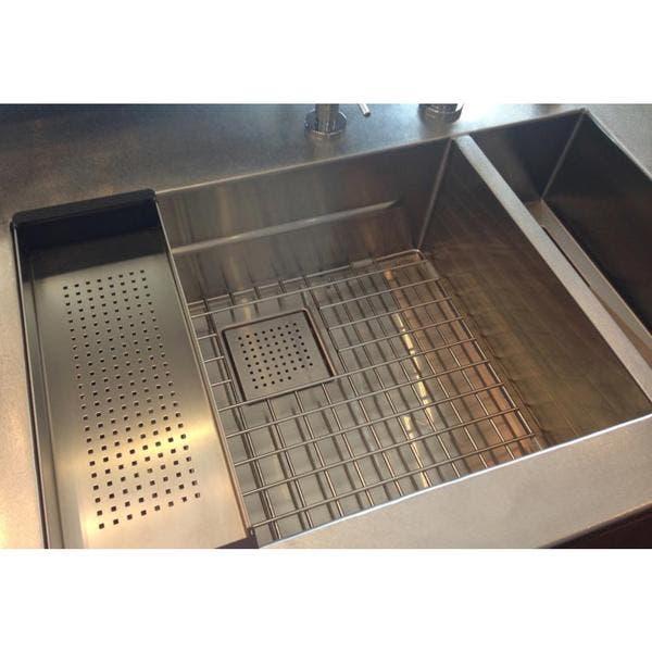 Shop Franke Peak Undermount Stainless Steel Kitchen Sink ...