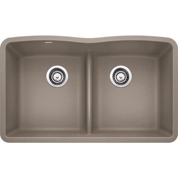 Blanco Diamond Undermount Granite Kitchen Sink 442072 Truffle