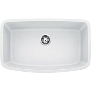 Blanco Valea Undermount White Granite Kitchen Sink