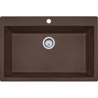 Shop Franke Undermount Granite Kitchen Sink Dig61091 Moc