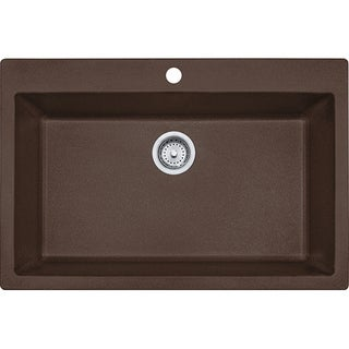 Franke Undermount Granite Kitchen Sink DIG61091-MOC Mocha
