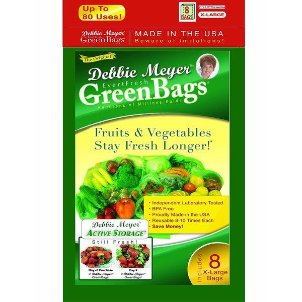 Debbie Meyer X-large Green Bags (8 Pack)
