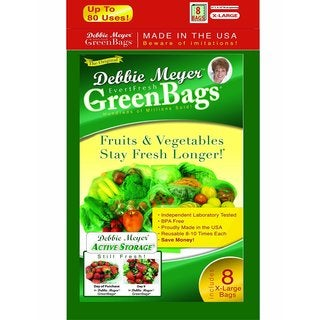 Debbie Meyer X-large Green Bags (8 Pack)
