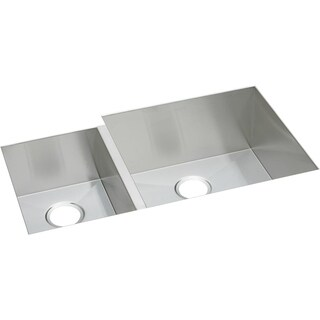 Elkay Avado Polished Satin Steel EFU352010L Undermount Kitchen Sink