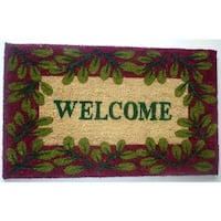 Welcome Leaves Doormat