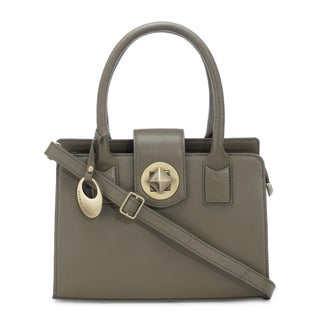 Phive Rivers Women's Leather Handbag (Green, PR1288)