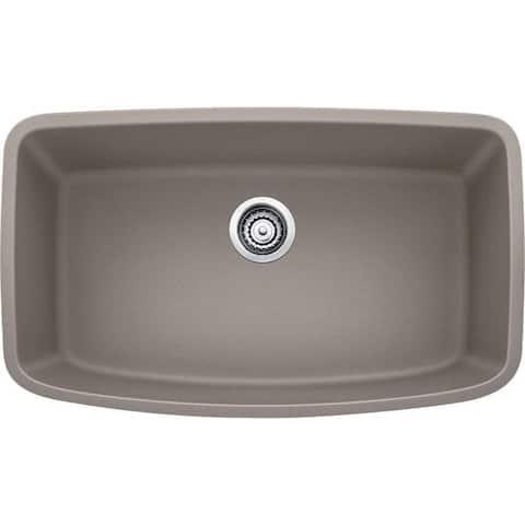 Blanco Valea Undermount Truffle Granite Kitchen Sink