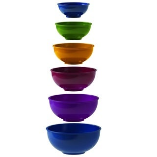 Reo Pinch and Measure Prep Bowls (Pack of 6) (Option: Multi)