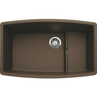 Blanco Performa Undermount Cafe Brown Granite Kitchen Sink