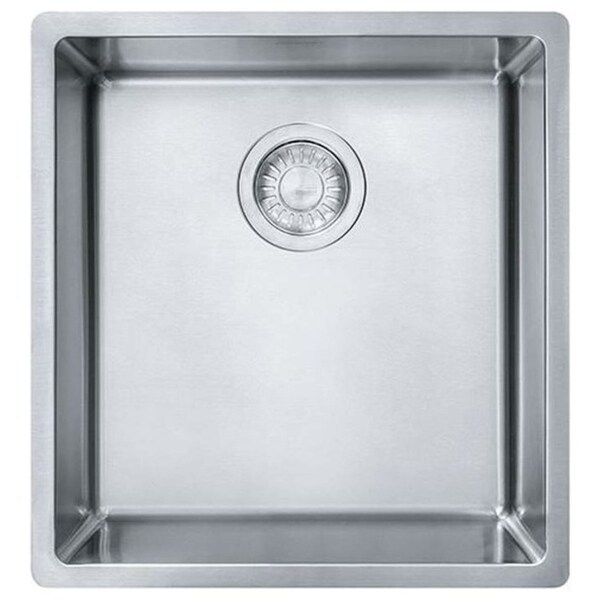 Franke Cube Drop-in/ Undermount Stainless Steel Kitchen Sink ...