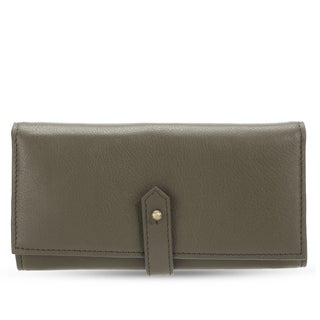 Handmade Phive Rivers Women's Leather Wallet (Green , PR1284) (Italy)