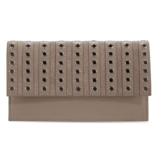 Handmade Phive Rivers Women's Leather Wallet (Grey, PR1283) (Italy)