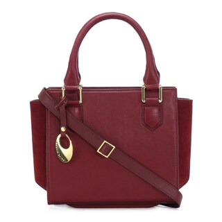 Handmade Phive Rivers Women's Leather Handbag (Red, PR1267) (Italy)