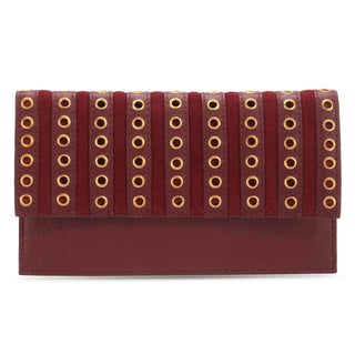 Handmade Phive Rivers Women's Red Leather Wallet (Italy)