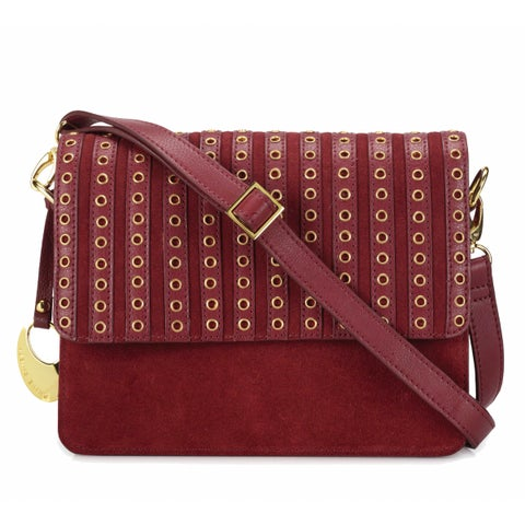 Handmade Phive Rivers Women's Leather Crossbody Bag (Red, PR1270) - One size (Italy)