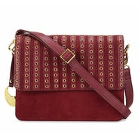 Handmade Phive Rivers Women's Leather Crossbody Bag (Red, PR1270) - One size (Italy) - One size