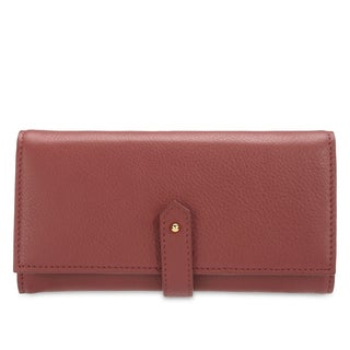 Phive Rivers Women's Leather Wallet (Pink, PR1286)