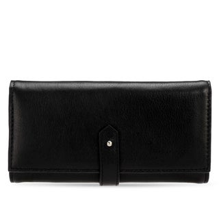 Handmade Phive Rivers Women's Leather Wallet (Black, PR1285) - One size (Italy)