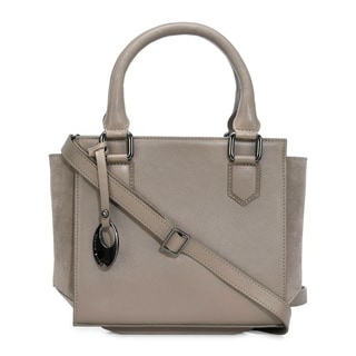Phive Rivers Women's Leather Handbag (Grey, PR1268)
