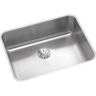 Elkay Gourmet Steel ELUHAD211545PD Stainless Steel Undermount Kitchen Sink